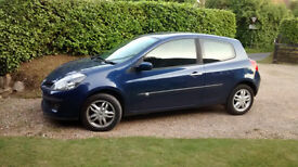 Renault Clio 1.4 Dynamique 3door 2006 Blue