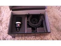 Unused Neumann TLM102 Cardioid with EA4 Shock mount Carton Box, Black