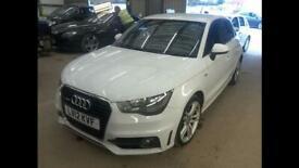 Audi A1 sports back S Line White 5 door, 1.6ltr diesel, Stop/Start