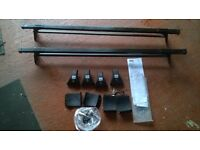 Skoda Fabia 5 door 2007>2014 roof rack locking