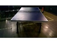 Cornilleou 500 indoor fold up table tennis table (£400 new) excellent central London bargain