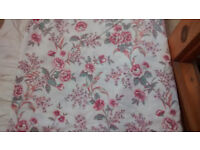 Double duvet and two pillow set, never used, very clean, floral pattern
