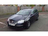 2010 vw golf estate 1.9 tdi bluemotion 1 owner from new full service history