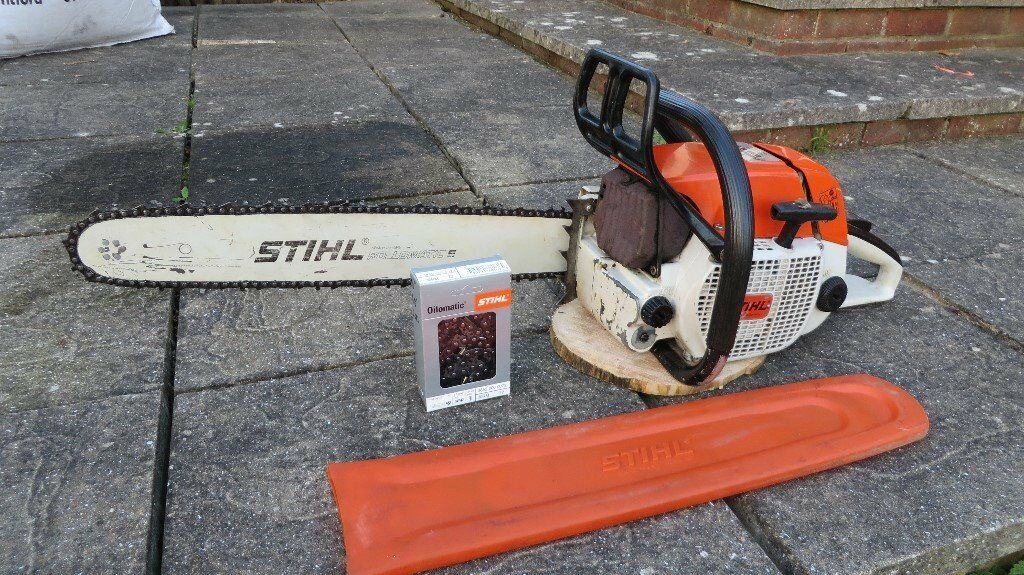 Stihl 038 AVS Farm Boss chainsaw, 67cc, 20