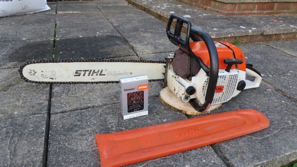 Stihl 038 AVS Farm Boss chainsaw, 67cc, 20