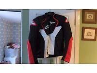 Alpinestars T Jaws Motorcycle Jacket size xl