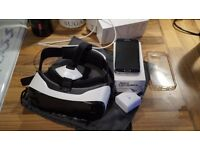 Samsung S6 64GB with Samsung VR headset for sale (no swaps)