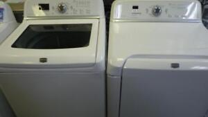 116-  Laveuse Sécheuse  MAYTAG BRAVOS XL  Washer and Dryer
