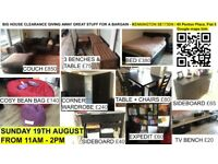 BIG HOUSE CLEARANCE - SUNDAY 19th AUGUST - 11am - 2pm in Kennington SE173DN