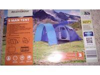 Brand new 5 man tent