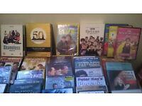 box of mixed CD AND DVD