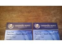Cricket- Pakistan v South Africa (7th June, Edgbaston) - Two tickets