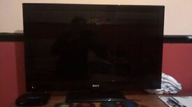 "Baird 32"" flatscreen tv with freeview built in"