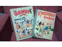 Knockout Fun Book, and The Dandy Book.