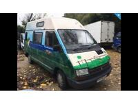 Renault Traffic 2.0 Diesel Camper Van / Motor Home / Day Van - MOT - Tow Bar