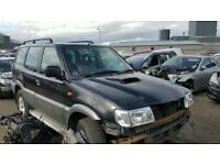 Nissan terrano 2 lwb 3.0 d breaking for parts only postage available nationwide