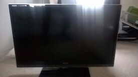 """Sharp Aquos 40"""" LED-LCD 3D HD TV For Sale"""