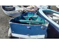 Mirror sailing dinghy/tender boat