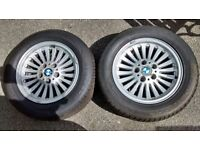 2 tyres on a BMW wheel size 225/55 16 Reduced