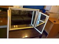 Large solid dressing mirror