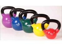 New kettlebells just £1 per kg