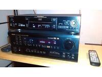 Denon Avr 1802, Sony DVP725 disc player
