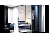 Ikea PAX sliding mirror wardrobe