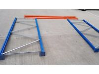 Various RAPID RACKING shelves and parts