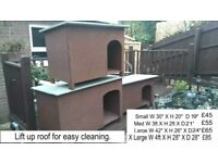 DOG KENNELS AND CAT BOXES
