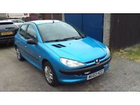 Peugeot 206 1.4hdi (LONG MOT & WELL SERVICED) Eco on Fuel 75+mpg