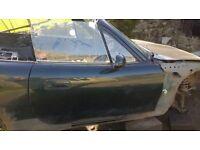 MAZDA MX5 MK2.5 DRIVER DOOR Dark Green Paint Code 18J