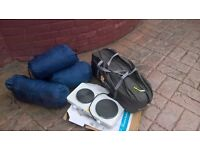 HI GEAR ATACARMA 5 MAN TENT /SLEEPING BAGS /ELECTRIC COOKER