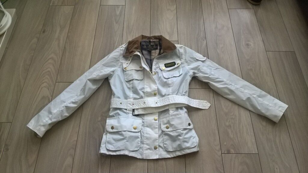 LADIES /YOUNG GIRLS BARBOUR INTERNATIONAL JKT SIZE 8