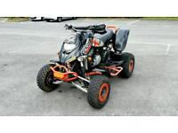 Bambardier can am ds659 650cc road legal quad, swap for kit car