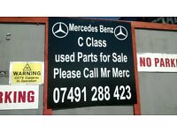 MERCEDES C CLASS USED PARTS & SERVICING
