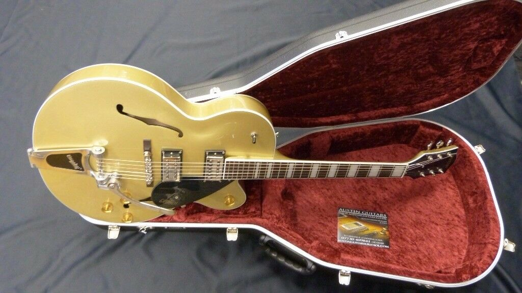 Gretsch G2420T Bigsby - Gold Dust Hiscox Hard Case (As New)