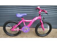 GIRLS APOLLO STAR BIKE IN IMACULATE LITTLE USED CONDITION.. (SUIT APPROX. AGE. 4+).