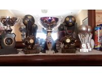 football trophy's