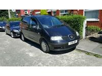 7 seater seat alhambra 1.9 tdi mint condition