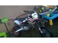 m2r racing 125cc dirtbike