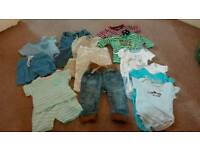 COLLECTION PENDING 0-6 months baby boy clothes