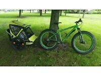 Bike trailer 2 seat bellelli taxi