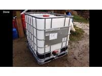 IBC Water tank 1000 litres