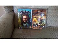 Stargate SG1,Atlantis and all films