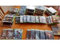XBOX 360 + 2 CONTROLLERS+HEADSET+WIFI ADAPTER+MORE THAN 50 GAMES INCLUDING RESIDENT EVIL COLLECTION