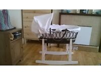 !!! CONDITION!!! Moses basket with stand