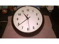 Original Smiths Sectric Bakelite Wall Clock