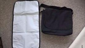 Black Change Bag and Change mat