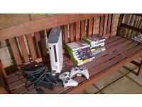 XBox 360 Arcade with 16 Games and 2 Controllers