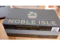 Brand new, unopened Noble Isle Fragrance Sampler Gift Set